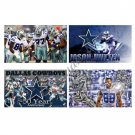Bule Star Flag Dallas Cowboys Flag NO.88 Player Sport Banner 3ft X 5ft
