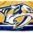 Nashville Predators column Flag  3X5FT Banner 100D Polyester