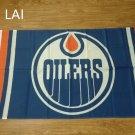 Edmonton Oilers flag 3ftx5ft Flag 100D Polyester metal rings