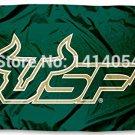 USF South Florida Bulls University Flag 150X90CM  3X5FT
