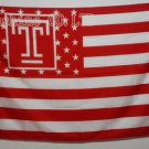 Temple University Owls USA With Stars and Stripes Flag hot sell goods 3X5FT