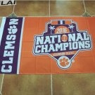 football national champions Clemson Tigers flag 3x5 FT with metal Grommets