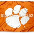 Clemson Tigers CU University Large College Flag 3x5 FT 150X90CM