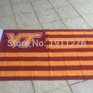 3X5FT Va Tech Hokies Virginia Tech Flag for Alumni Nation US banner custom flag