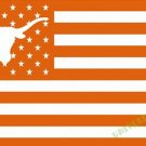 3X5FT  Texas_Longhorns logo flag US stripes banner