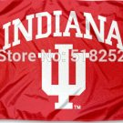 Indiana University Hoosiers Flag 3x5 FT 150X90CM Banner 100D Polyester
