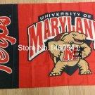 Maryland Terrapins Wordmark Flag 3ft x 5ft Polyester  Banner Flying