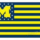 University of Michigan Wolverines USA  Flag hot sell goods 3X5FT