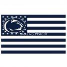 Penn State Nittany Lions Nation Flag 3ft x 5ft Polyester  Banner