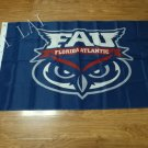 3x5ft Florida Atlantic  flag competitions and decorative 90x150cm100D polyester