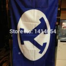 BYU Cougars Flag 150X90CM NCAA 3X5FT Banner 100D Polyester