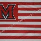 Miami University Redhawks Flag NCAA 3ft X 5ft Polyester Banner Flying