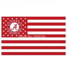 Alabama Crimson Tide Nation Flag 3ft x 5ft Polyester NCAA Alabama Crimson Tide