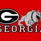 Georgia Bulldogs Flag 3ftx5ft Banner 100D Polyester NCAA Flag(2)