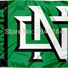 North Dakota Fighting Hawks Wordmark Flag Banner New 3x5FT 90x150CM