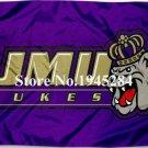 James Madison JMU Dukes Flag Banner New 3x5FT 90x150CM Polyester 9199
