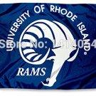 University of Rhode Island Rams Flag 150X90CM NCAA 3X5FT
