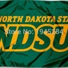 North Dakota State Bison NDSU Wordmark Flag Banner 008 New 3x5FT