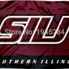 Southern Illinois Salukies SIU Flag Banner 001 New 3x5FT 90x150CM Polyester 8900