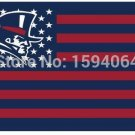 Duquesne Dukes stars and blue stripes flag 3ftx5ft Banner 100D Polyester Flag