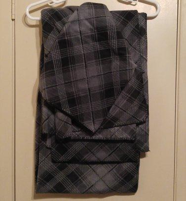 Handmade Sofa Throw Blanket with Sleeves