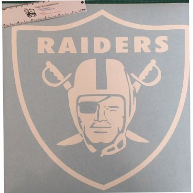 """Oakland Raiders """"Shield"""" vinyl decal - Available in all colors / sizes!  Raider Nation"""
