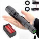 4000LM Tactical Flashlight Cree XML T6 LED Rechargeable Torch +Battery+Charger