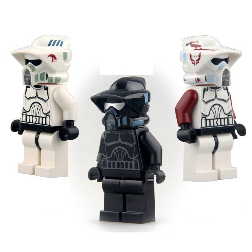 Star Wars Clone ARF Trooper Jedi Warrior Minifigure Lego Compatible Boy's Toys