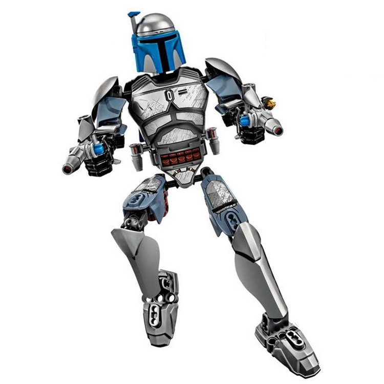 Star Wars Jango Fett Bounty Hunter Jedi Warrior Lego Compatible Toy for Boys