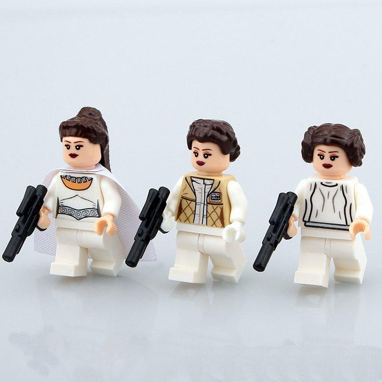Star Wars Princess Leia Minifigure Lego Compatible Minifigures