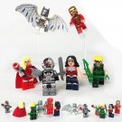 Super Hero Batman Ironman Wonder Woman DC  Marvel Minifigure Lego Compatible Toy