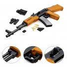 AK47 Heavy Submachine Rifle Swat Police Gun Lego Rifle Compatible Building Toys