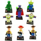 Bricks Built Super Hero Toy Story Woody Buzz Lightyear Minifigure Lego Compatible Toy Gift for Boys