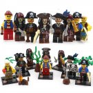 Super Hero Pirates Caribbean Jack Sparrow Minifigure Lego Sets Compatible Toys