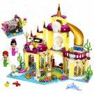 Mermaid Princess Underwater Palace Castle Lego Mermaid Minifigures Compatible Castle