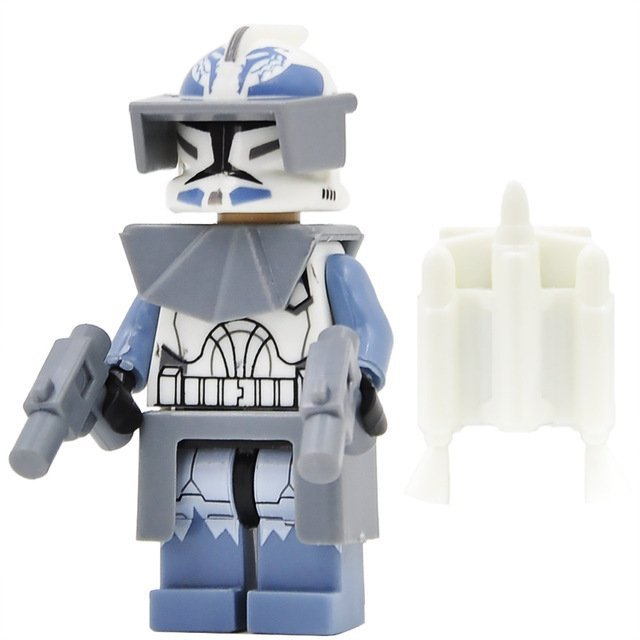 Wolfpack Star Wars Clone trooper Minifigure Lego Star Wars Minifigures Compatible Toys