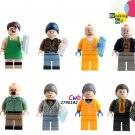 Breaking Bad Badger Jesse Pinkman Hank Schrader Saul Goodman Lego Compatible Minifigures