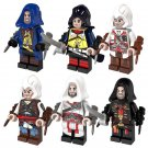 6pcs Assassins Creed Minifigure Lego Compatible Toys Kids Gift Idea