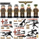 World War 2 Germany Soldiers Compatible Lego Military Sets