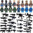 SWAT CSF Anti Terrorism Soliders Comaptible Lego Minifigures