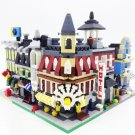 City Creator Town Street Hall Fire Station Grocery Hotel Building Compatible Lego City Sets