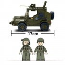 Military Army Battle Jeep Gun Armored Lego Military Vehicle Compatible Toy