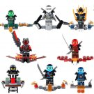 Phantom Ninja Jay Kai Cole Zane Minifigure Lego Minifigures Compatible toys