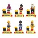 Dragon Ball Z Resurrection Goku Vegeta Lego Minifigure Compatible Toys
