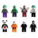 Batman Joker Killer Croc with Tommy Gun Minifigures Lego Compatible Toy
