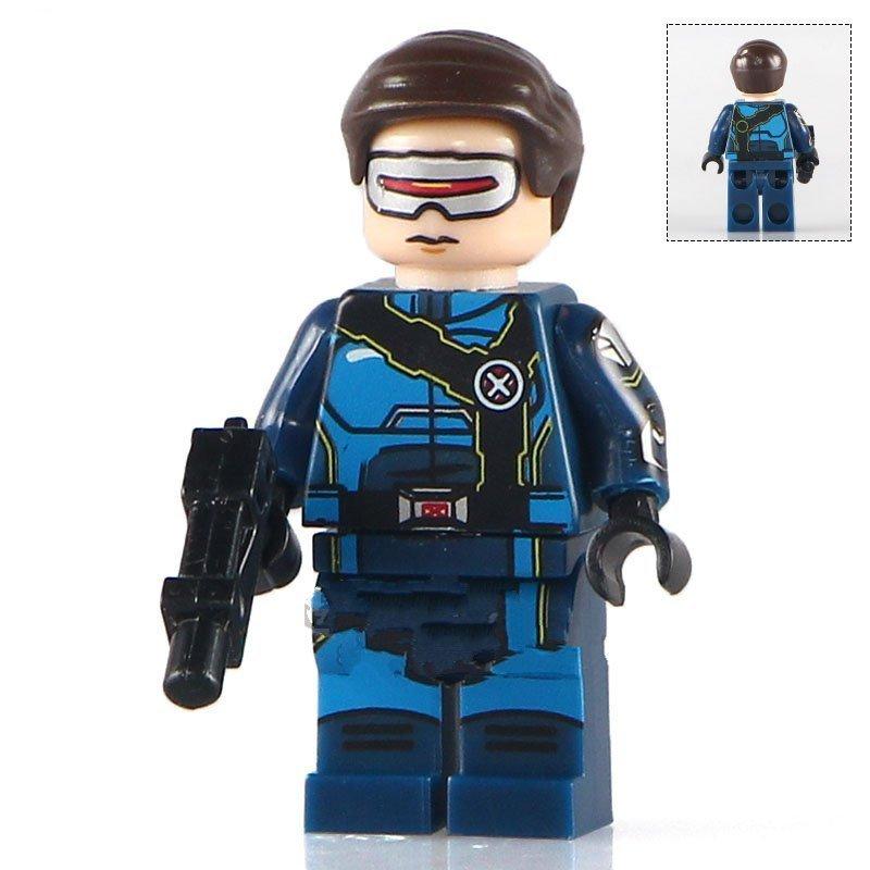 X-Men Cyclops minifigures Lego Compatible toys