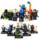 Ninjago Sets Kai Jay Zane Nya minifigures Lego Compatible Toys