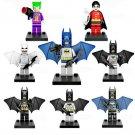 Joker Robin Batman minifigures Lego Compatible Toys DC Batman Movie