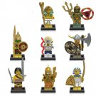 Explore sets Pharaoh's Quest Cursed Cobra Statue minifigures Lego Compatible Toys