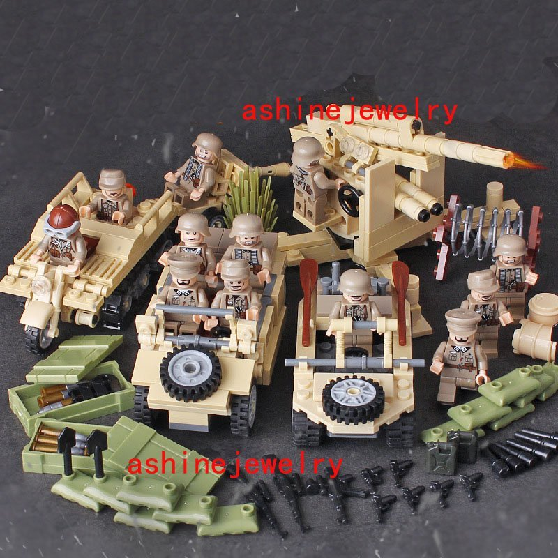 Battle of france germany soldiers lego military compatible for Siege lego france